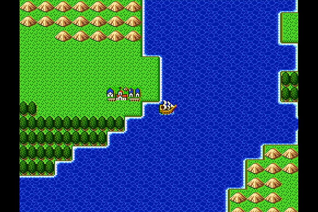 ドラクエ2 プレイ日記04「船と財宝」