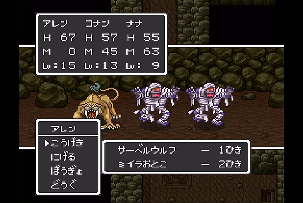 洞窟内の魔物は強敵揃い