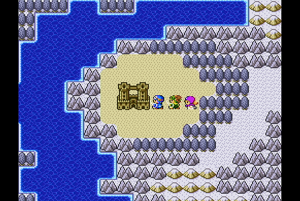 ハーゴンの根城に乗り込む