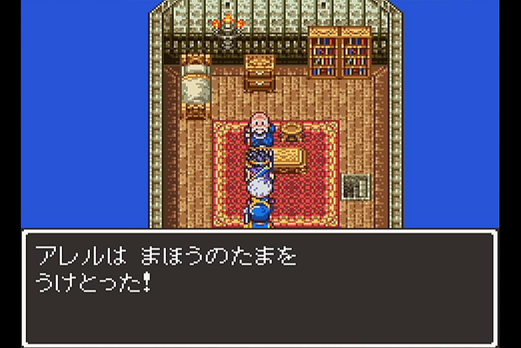 オルテガを知っている老人から魔法の玉を入手