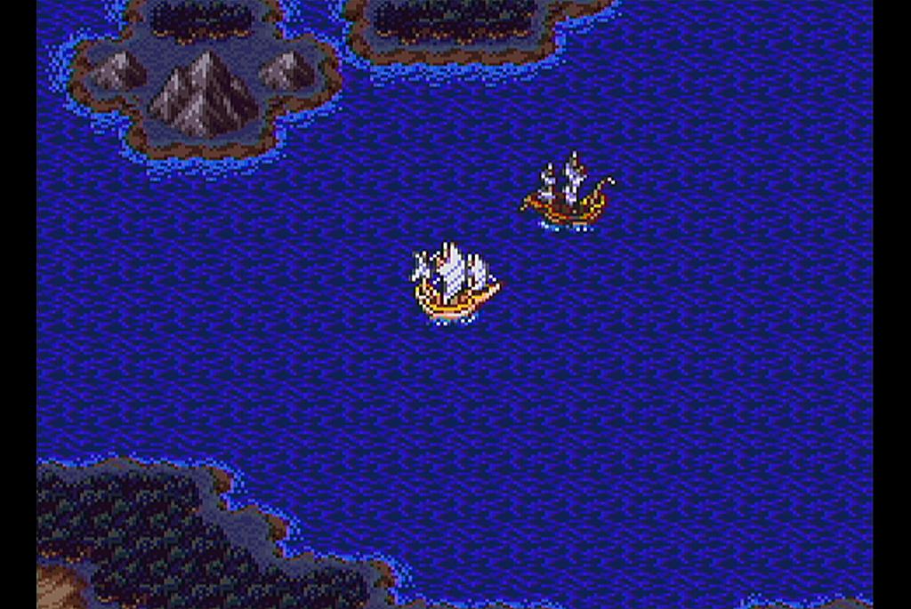 ロマリア近海を彷徨っている幽霊船