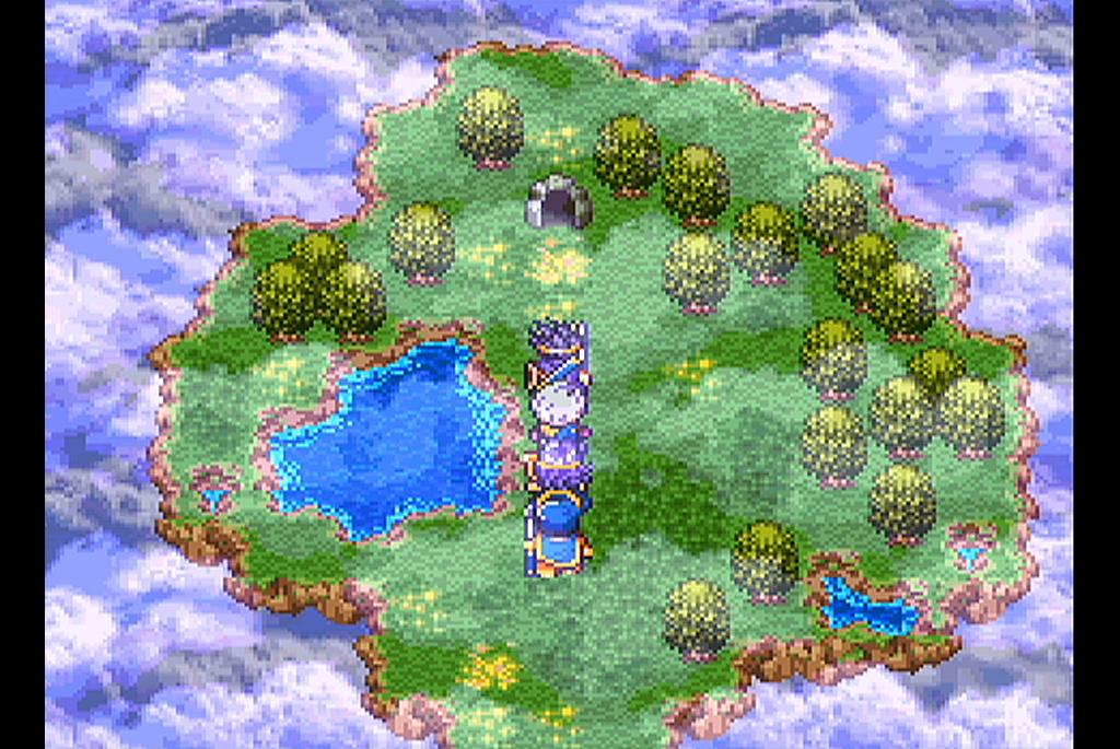 天空にある謎の洞窟