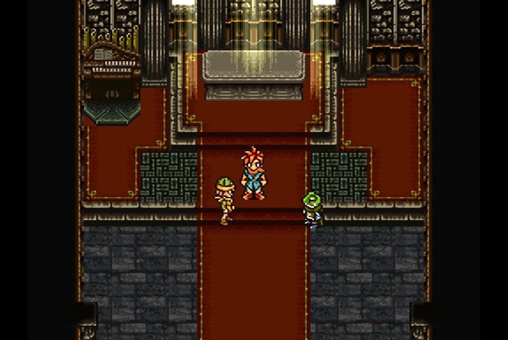 ミアンヌを倒すとカエルが現れ仲間になる