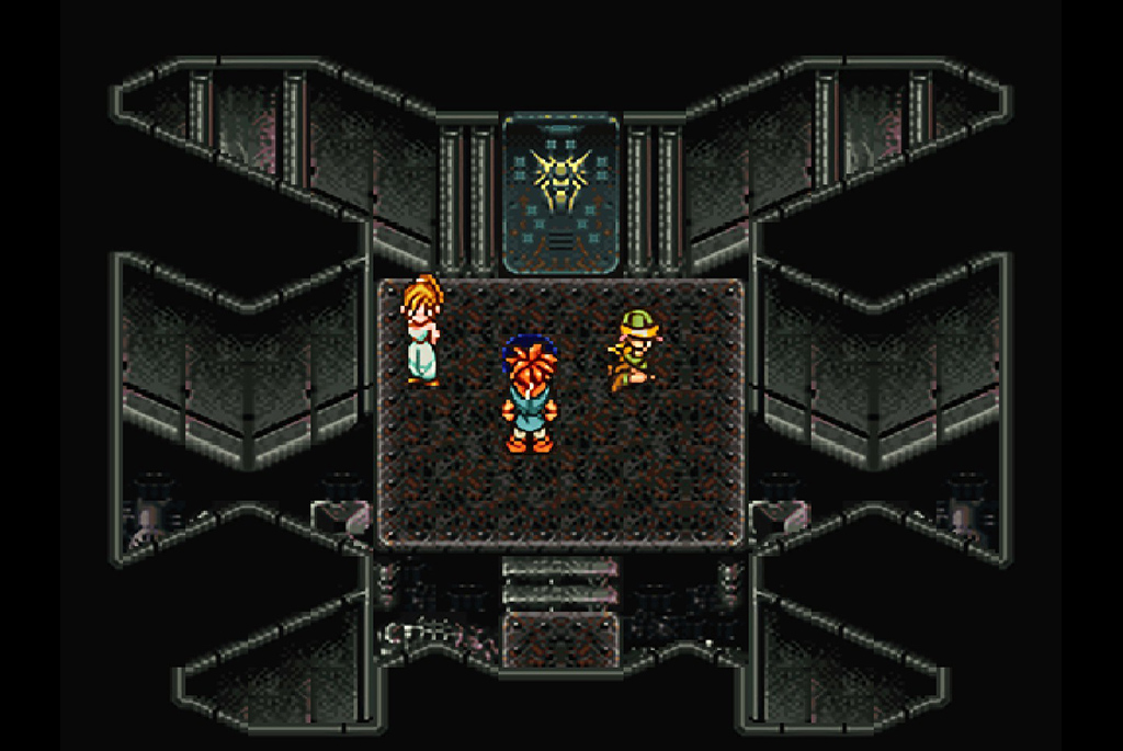 クロノたちは謎の部屋に到着