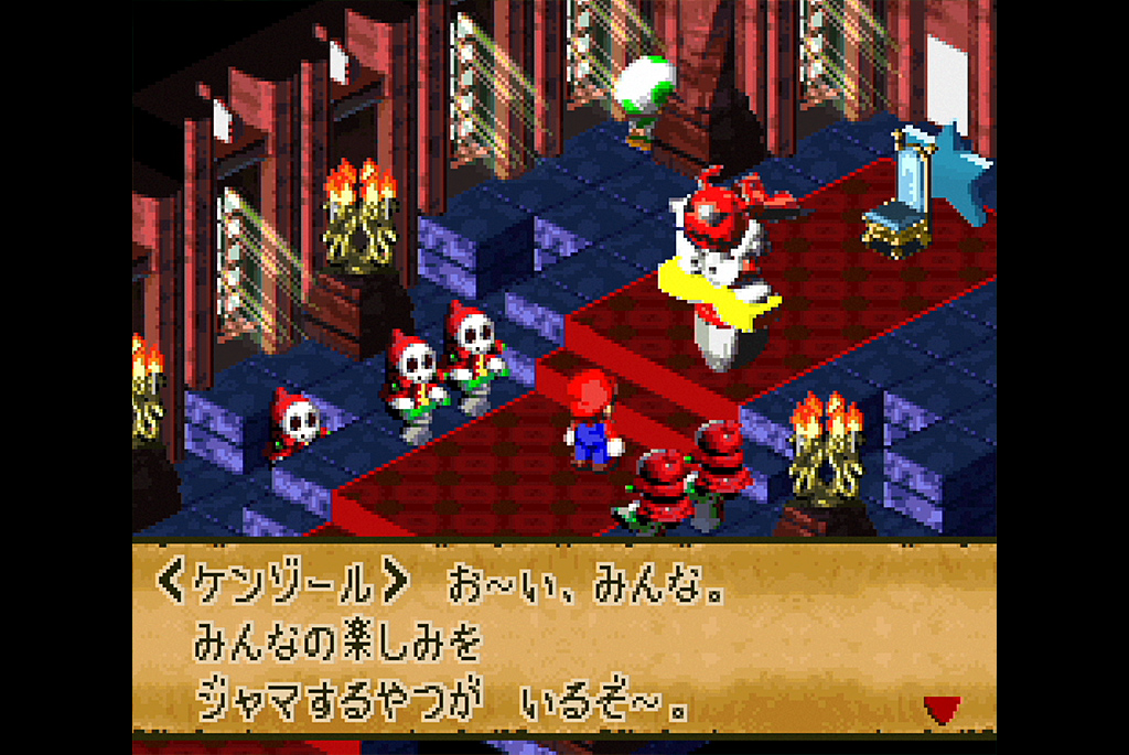 キノコ城を乗っ取ったケンゾール