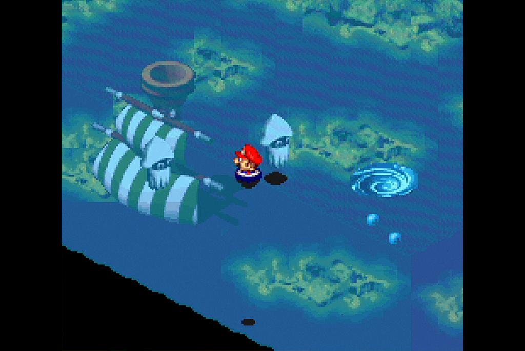 沈没船を発見