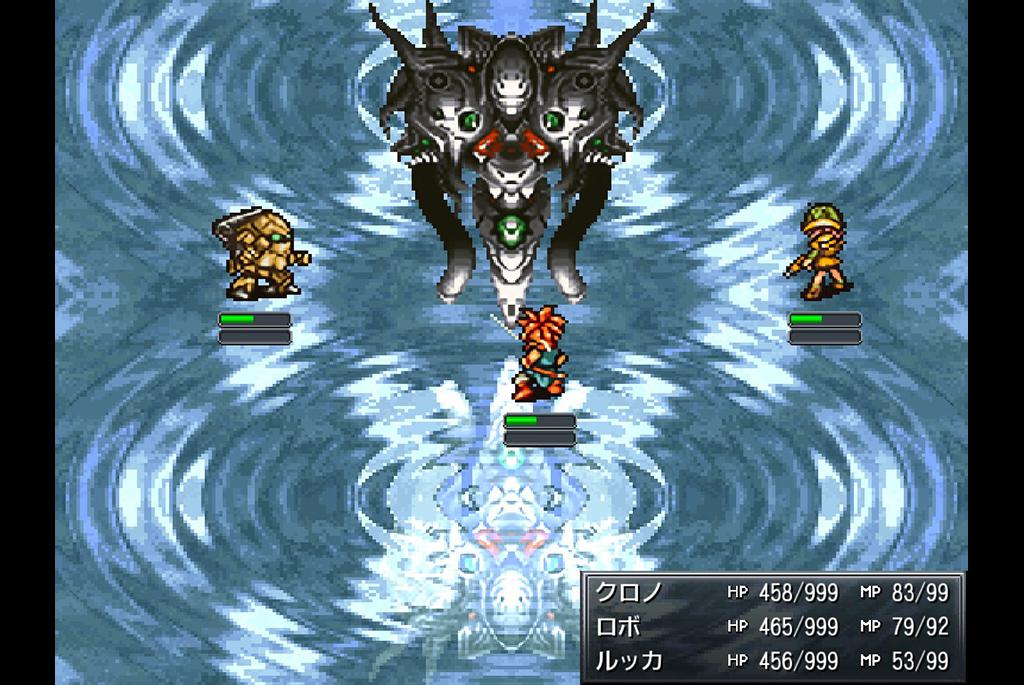 魔神器とのボス戦